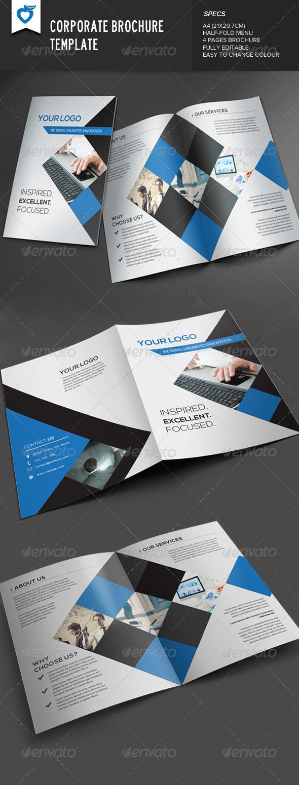 GraphicRiver Corporate Brochure 7716311