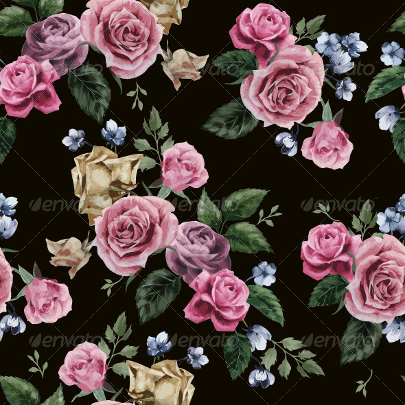 GraphicRiver Floral Pattern 7716467