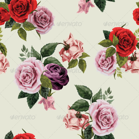 GraphicRiver Floral Pattern 7716777