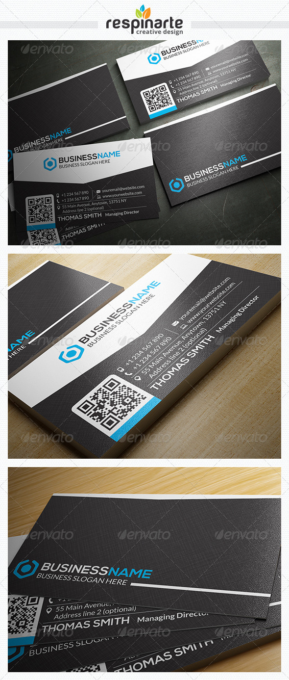 GraphicRiver Corporate Business Card RA26 7716871