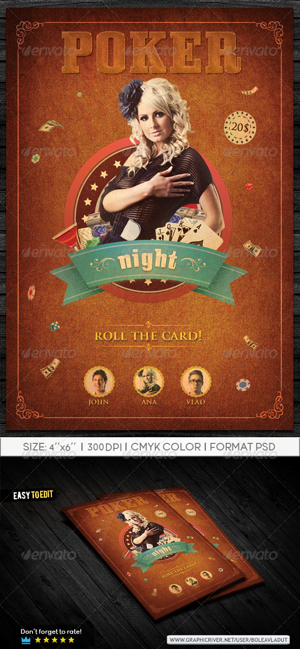 GraphicRiver Poker Night 7716890