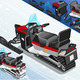 Rear View Isometric Snowmobile  - GraphicRiver Item for Sale