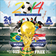 Soccer 2014 Football Brazil - GraphicRiver Item for Sale