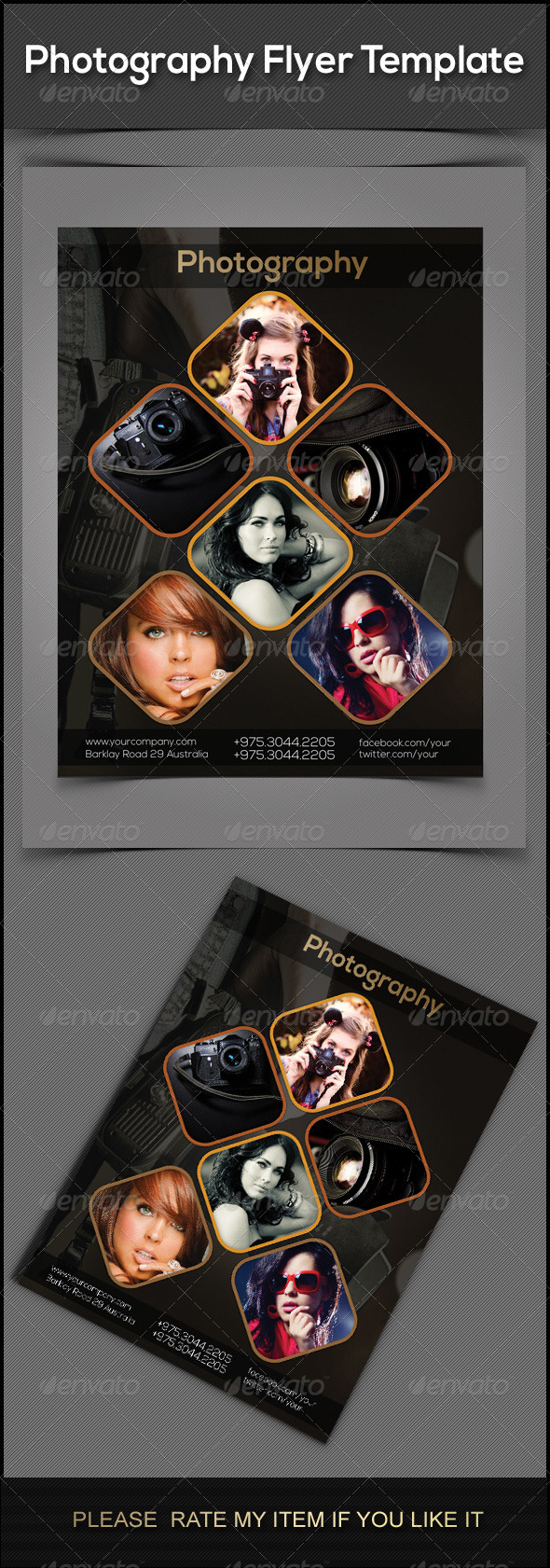 GraphicRiver Photography Flyers 7675074