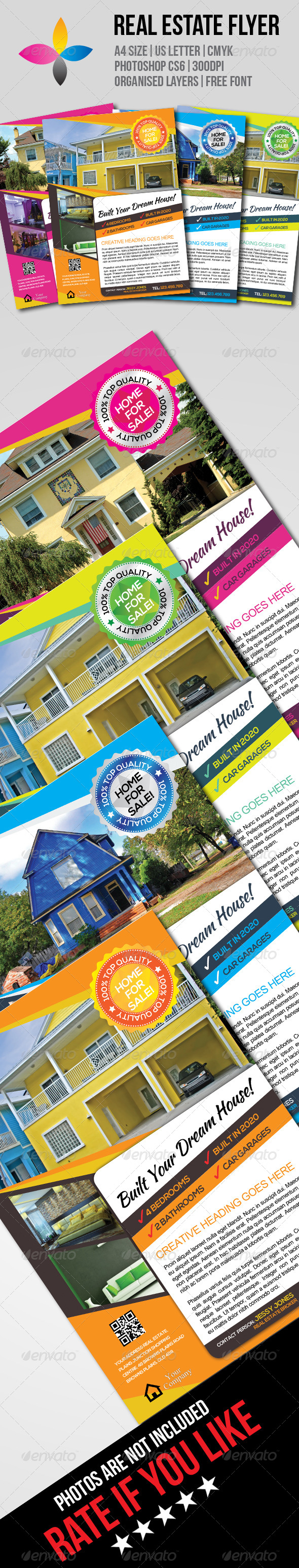 GraphicRiver Real Estate Flyer 7717207