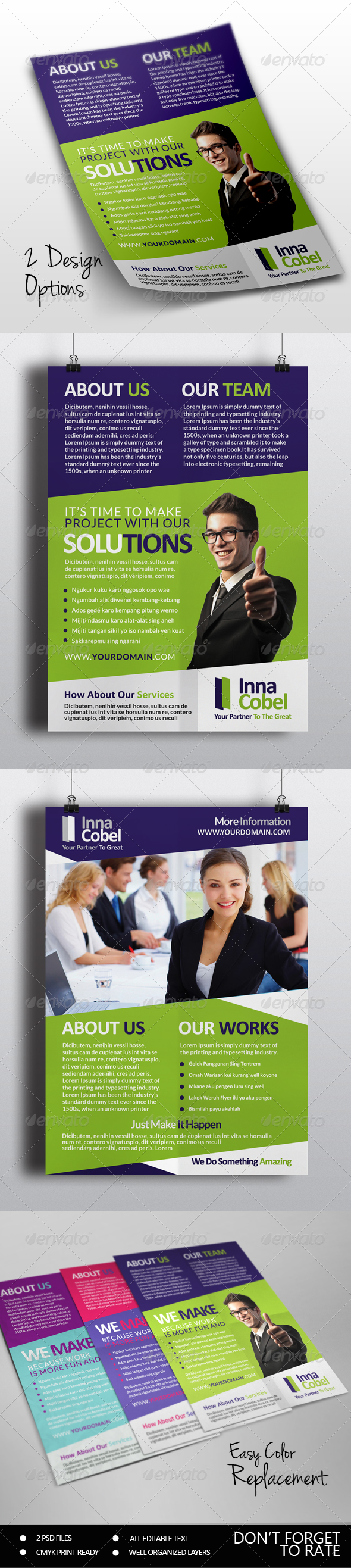 GraphicRiver Multipurpose Business Flyer 7687374