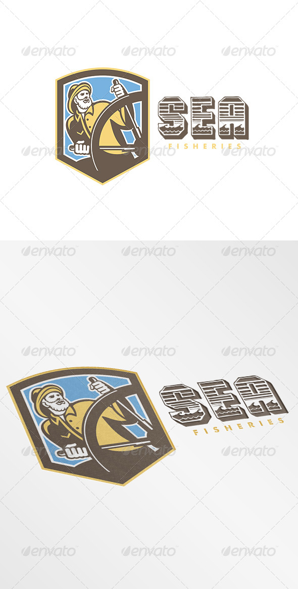 GraphicRiver Sea Fisheries Logo 7717391