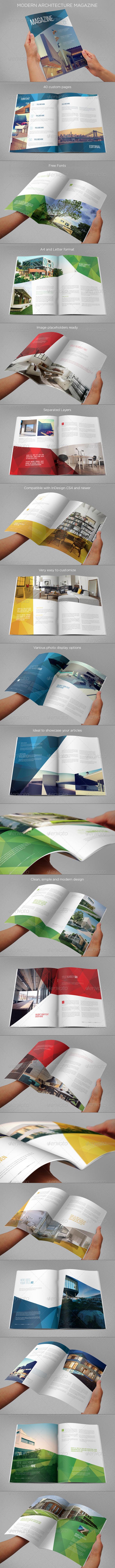 GraphicRiver Modern Architecture Magazine 7717553