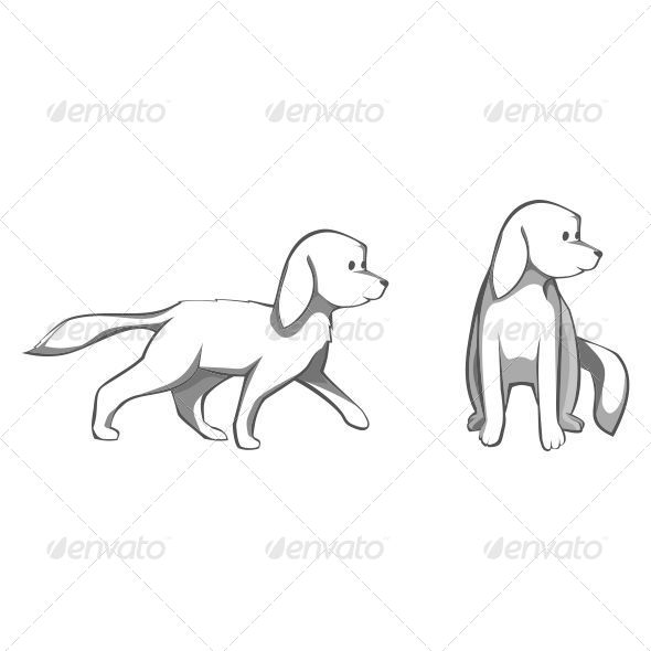 GraphicRiver Dogs 7708589