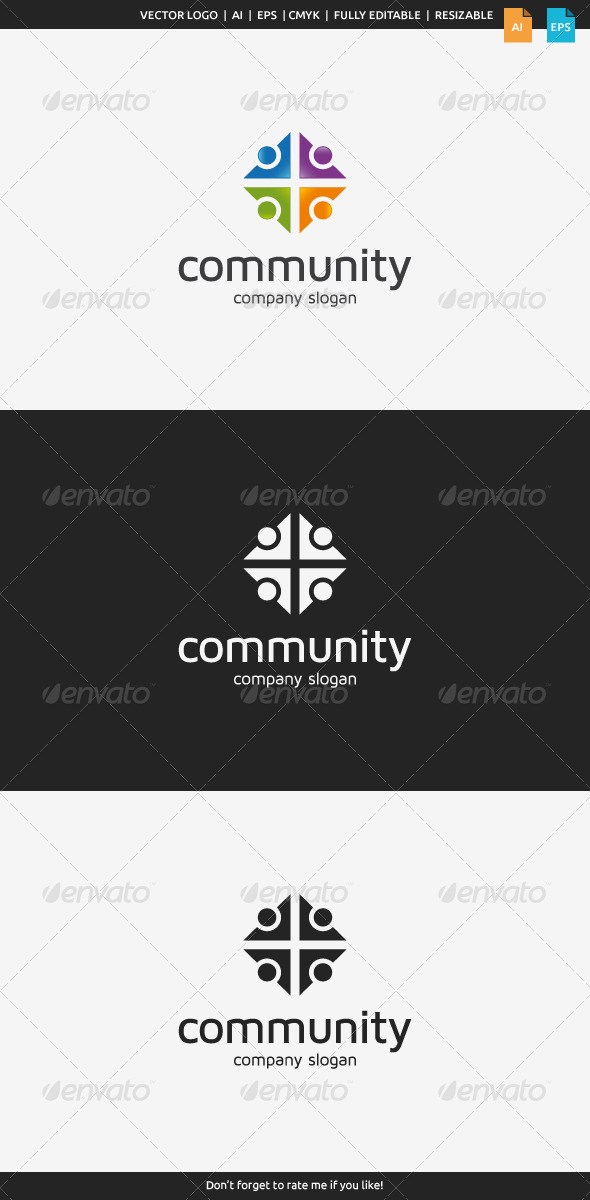 GraphicRiver Community Logo 7717611