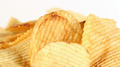 Potato Chips on White Close Up 2 - PhotoDune Item for Sale