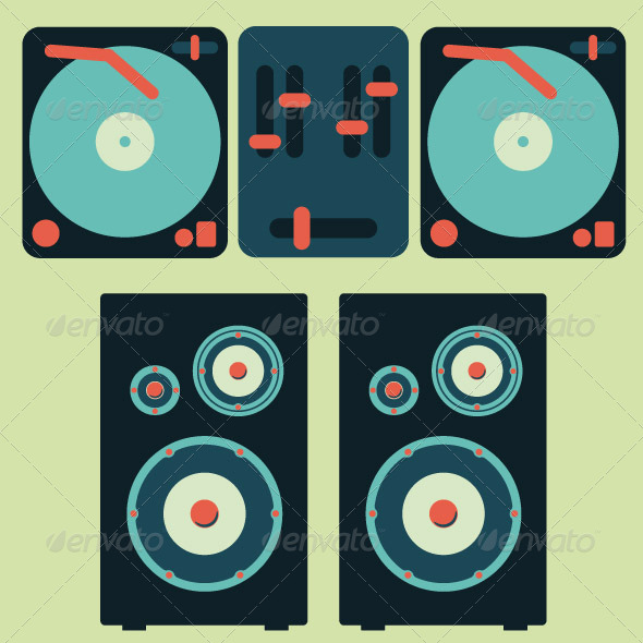 GraphicRiver Turntable Pop 7718050