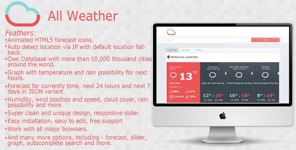 CodeCanyon All Weather 7718093