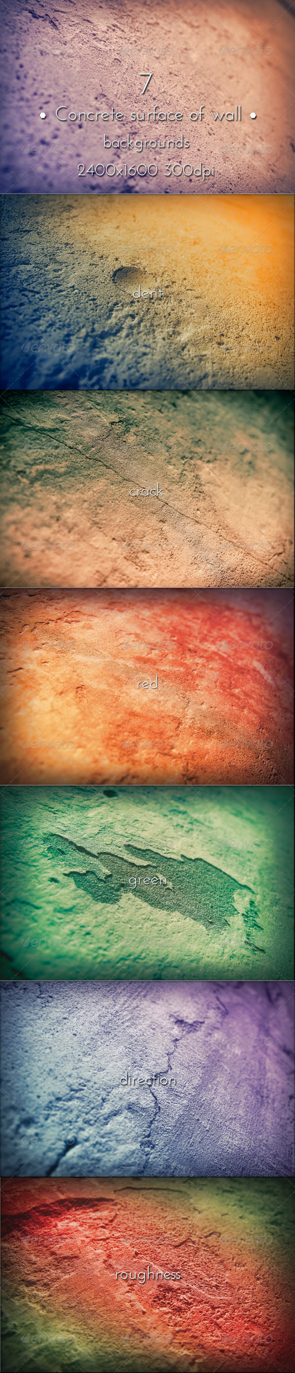 GraphicRiver Concrete Surface Wall Background 7718222