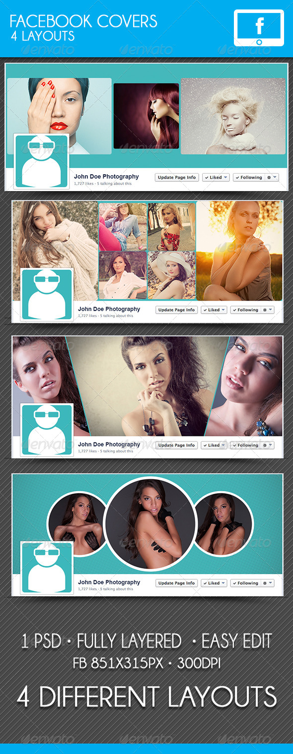 GraphicRiver Facebook Covers 7718250