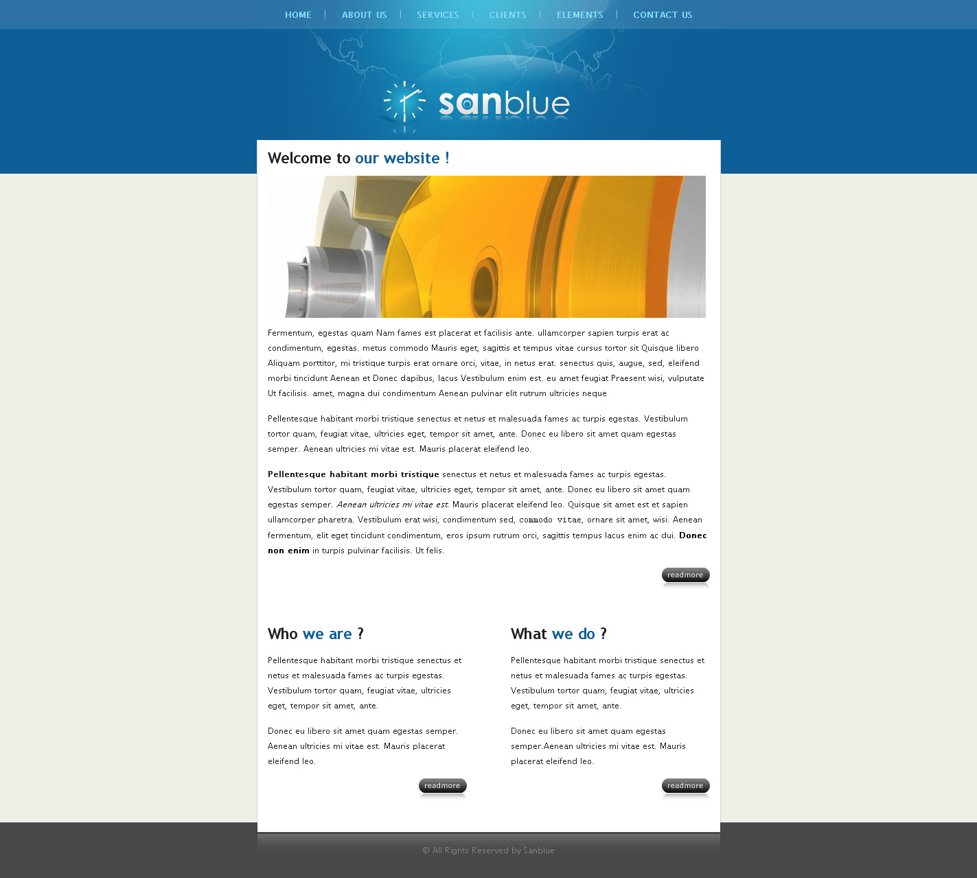 Sanblue - Homepage of Sanblue