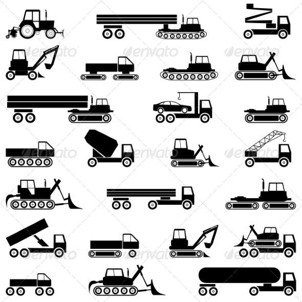 GraphicRiver Vehicles 7719576