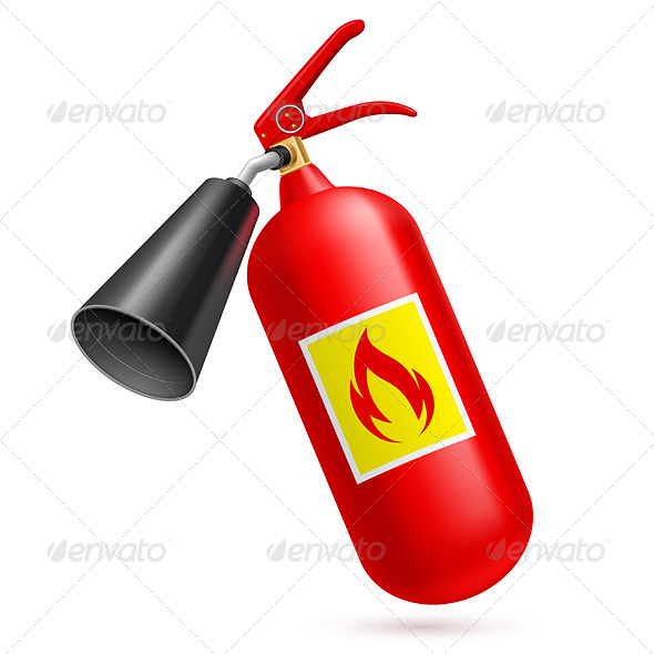 GraphicRiver Fire Extinguisher 7720357