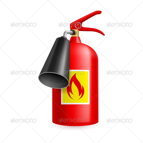 GraphicRiver Fire Extinguisher 7720358