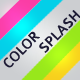 Color Splash Party Timeline - GraphicRiver Item for Sale