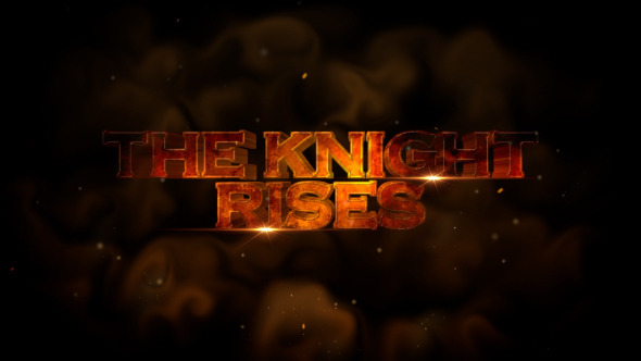 The Knight Rises Cinematic Trailer Apple Motion