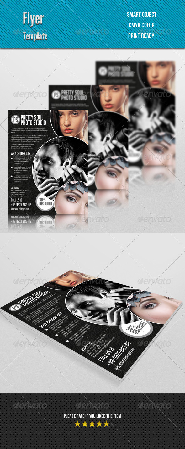 GraphicRiver Photography Studio Flyer 7720855