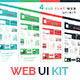 Fresh Flat Web UI-Kit - GraphicRiver Item for Sale