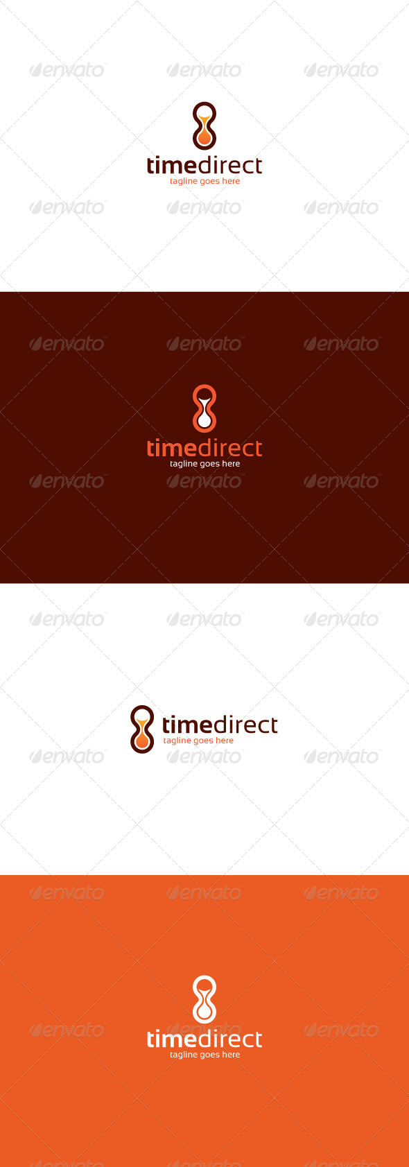 GraphicRiver Time Direct Logo 7721289