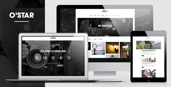 O'Star - An innovatively responsive HTML5 Template