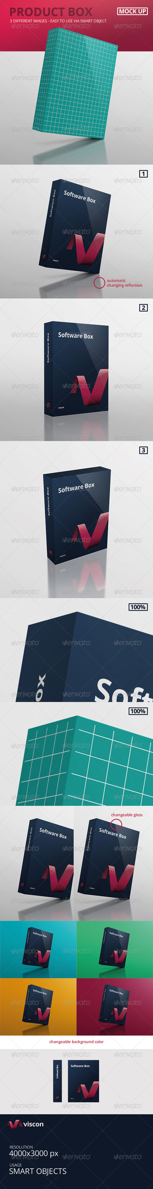 GraphicRiver Product Box Mock-Up 7721714