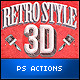 Retro Style 3D Tools - Photoshop Actions - GraphicRiver Item for Sale