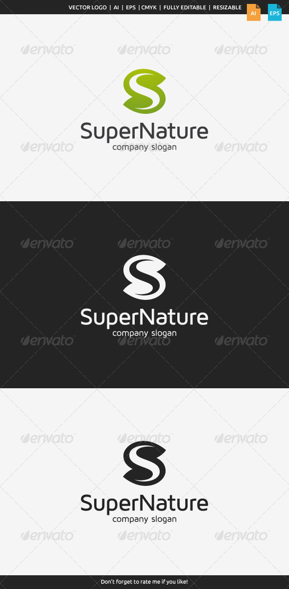 GraphicRiver Super Nature Logo 7722241