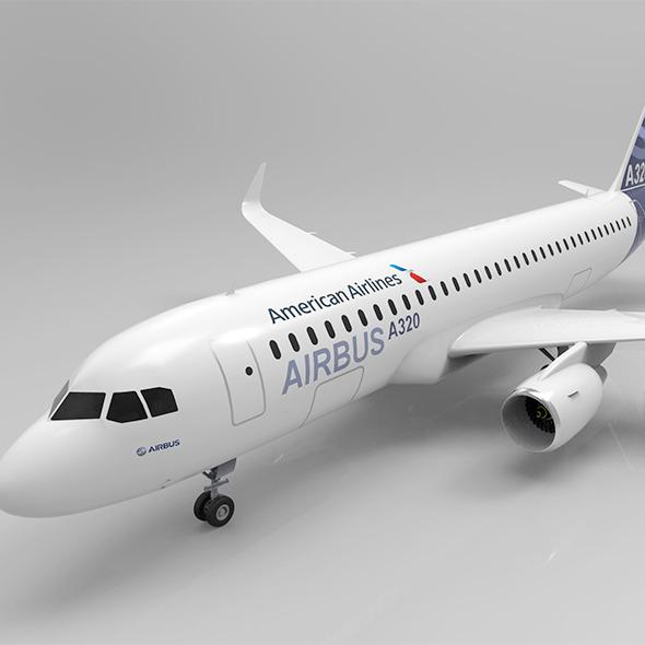 3DOcean A320 7722553