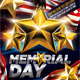 Memorial Day Flyer Template - GraphicRiver Item for Sale