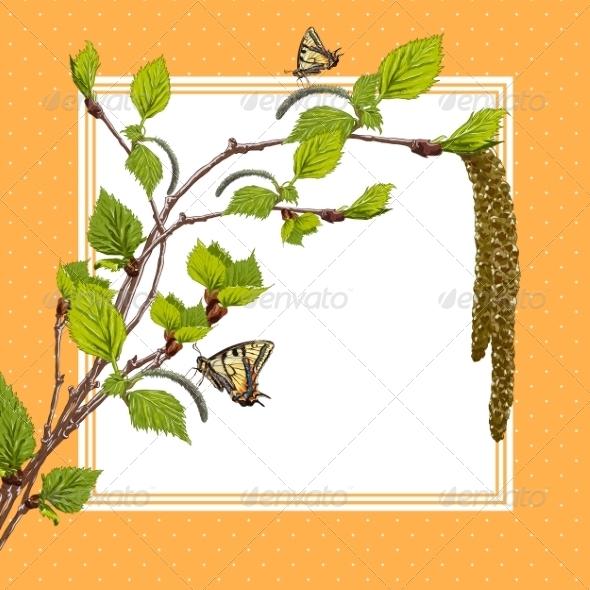 GraphicRiver Birch Branches 7723120