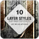 Grunge layer styles - wood, rust, nature - GraphicRiver Item for Sale