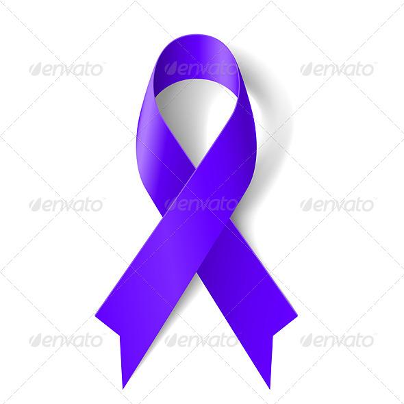 GraphicRiver Purple Ribbon 7724058