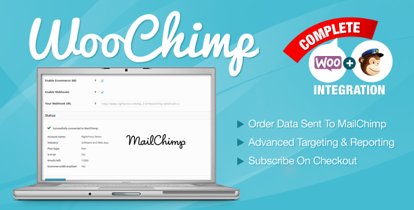 WooChimp - WooCommerce MailChimp Integration