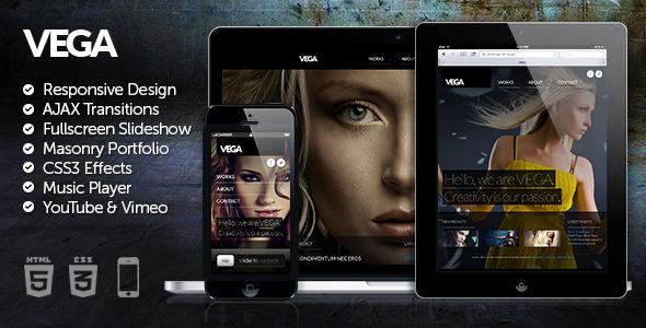 Vega HTML5 Responsive Template