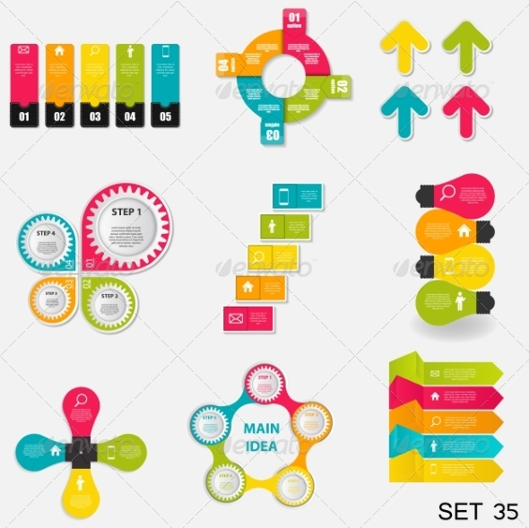 GraphicRiver Collection of Infographic Templates for Business 7724769