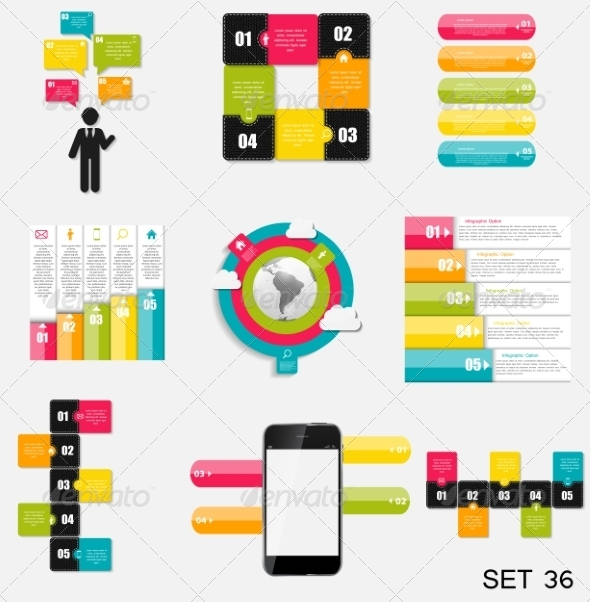 GraphicRiver Collection of Infographic Templates for Business 7724801