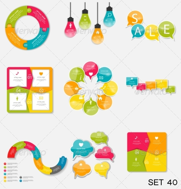 GraphicRiver Collection of Infographic Templates for Business 7724808