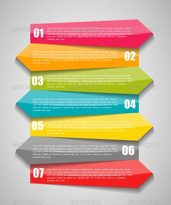 GraphicRiver Infographic Template 7724855