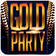 Hip Hop Gold Party Flyer - GraphicRiver Item for Sale