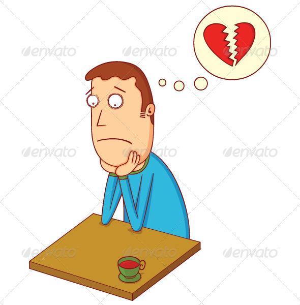 GraphicRiver Broken Heart Boy 7725113