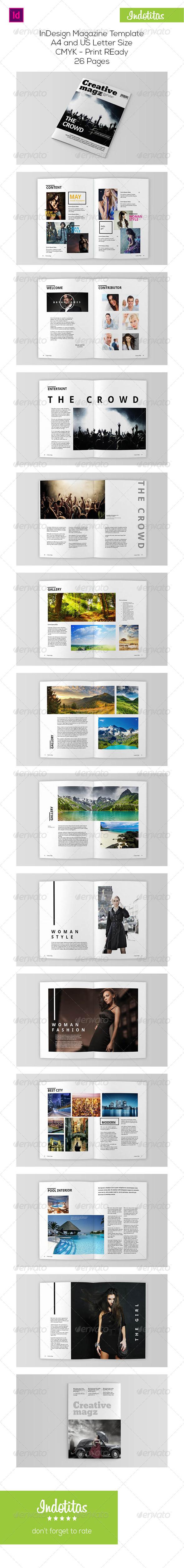 GraphicRiver Creative Magazine Template 7725738
