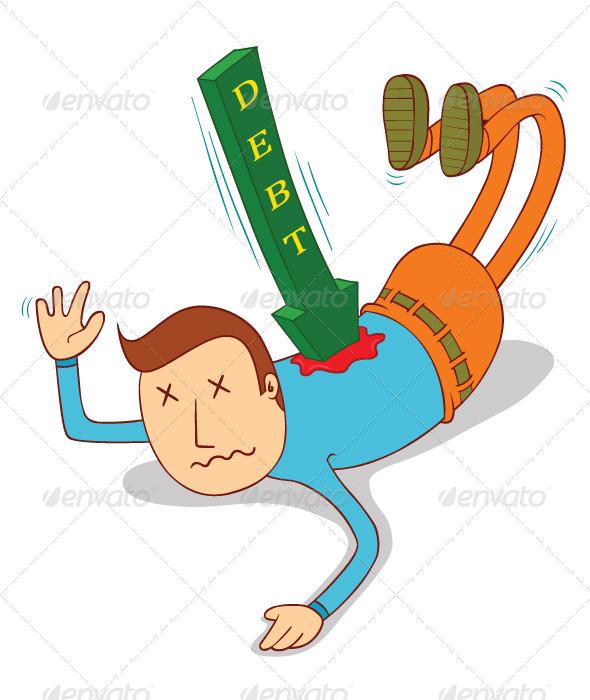 GraphicRiver Debt Attack 7725969