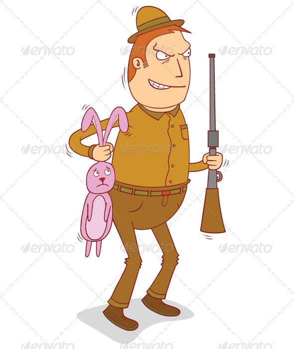 GraphicRiver Rabbit Hunter 7726041