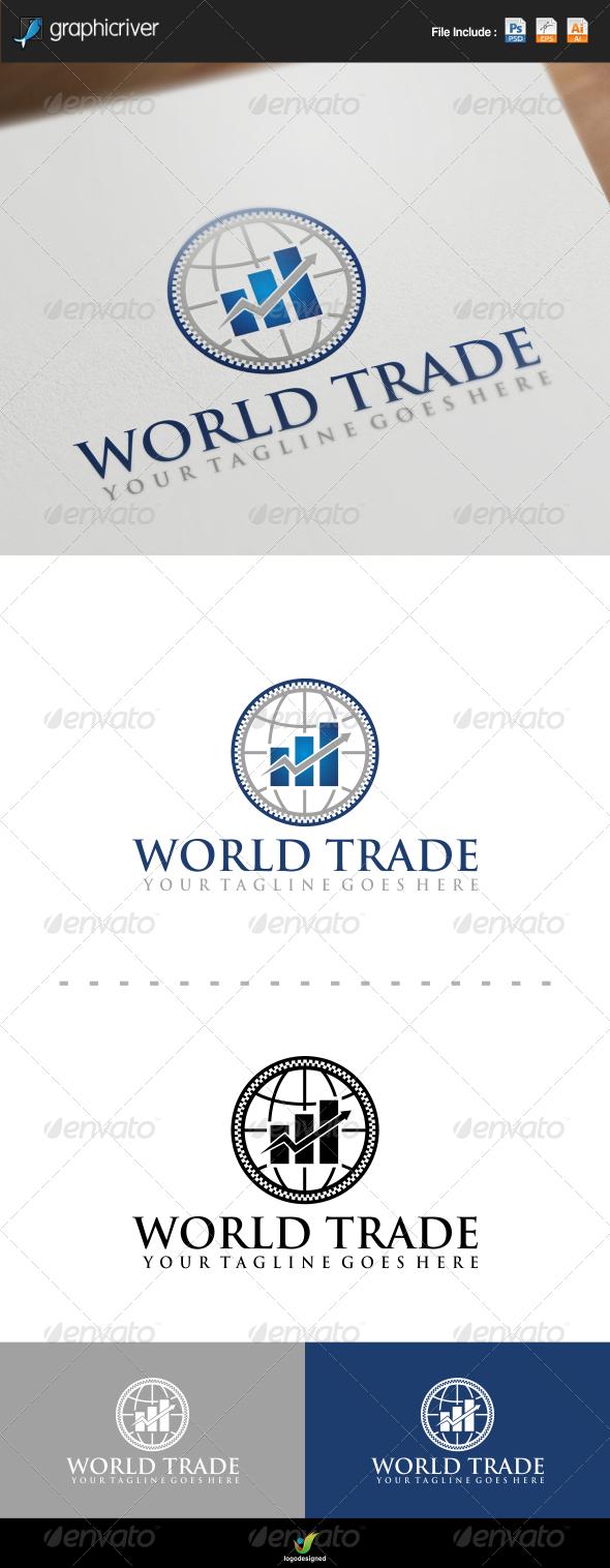 GraphicRiver World Trade Logo 7727325
