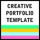 Creative Portfolio Template - ActiveDen Item for Sale